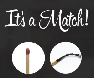 """It's a match"""